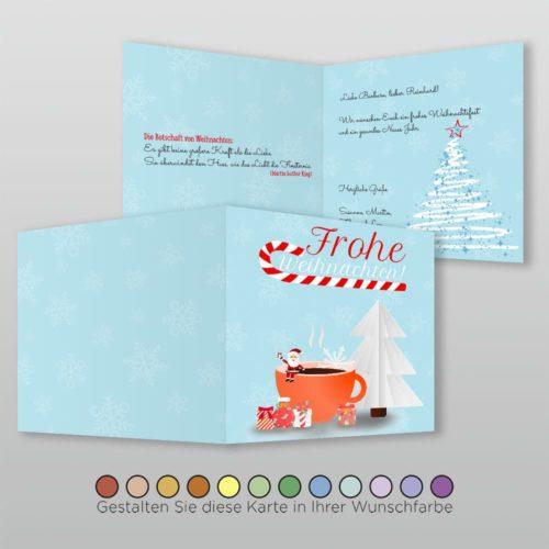 Weihnachtskarte Q 4s Nova