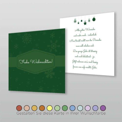 Weihnachtskarte Q 2s Florina