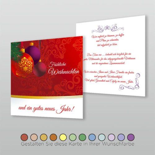 Weihnachtskarte Q 2s Tala