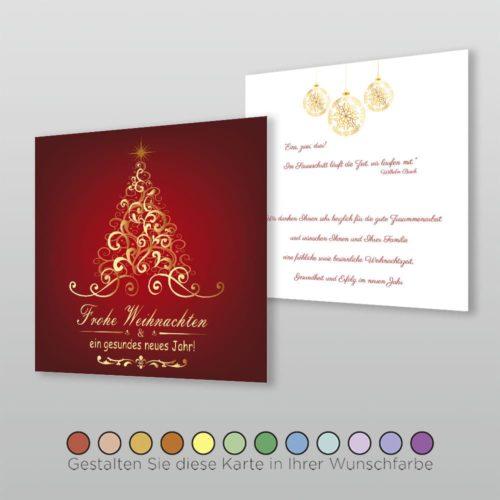 Weihnachtskarte Q 2s Velia