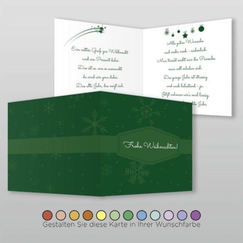 Weihnachtskarte Q 4s Florina