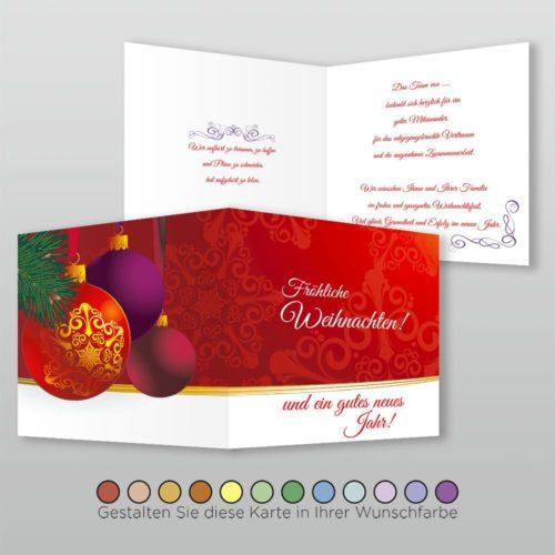 Weihnachtskarte Q 4s Tala