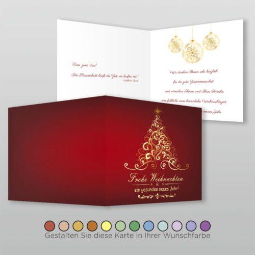 Weihnachtskarte Q 4s Velia