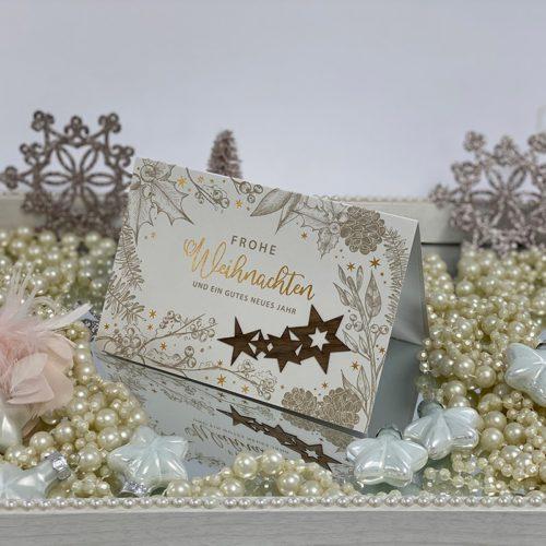 Weihnachtskarte Roxi 01