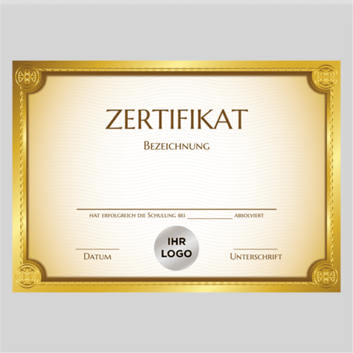 Zertifikat Cottbus