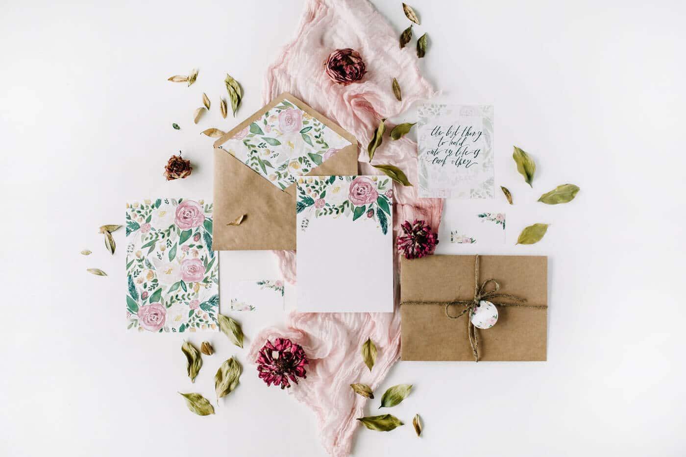 Produkte für Deine Hochzeit